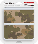 Nintendo Cover Plate 017 Camouflage New 3DS