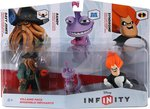 Disney Infinity Villains - Syndrome & Randy & Davy Jones