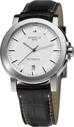 Michel Herbelin Automatic Black Leather Strap 1680-11