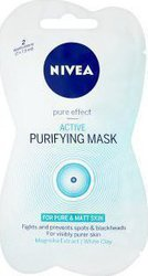 Nivea Visage Active Purifying Mask Pure&Matt Skin 2x7.5ml