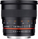 Samyang 50mm f/1.4 AS UMC Lens (Samsung NX)