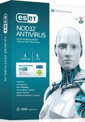 Eset NOD32 Antivirus (Version 8) (1 Licence , 1 Year)