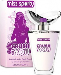 Miss Sporty Crush On You Eau de Toilette 100ml