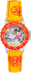 OEM Children's Mickey Mouse Yellow Leather Strap WDWT0167
