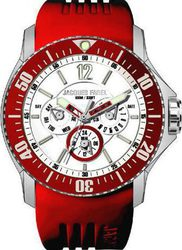 Jacques Farel Multifunction Red Rubber Strap ATX4499