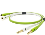 Oyaide Audio Cable 2x 6.3mm male - 2x RCA male 1m (d+ RTS class B)