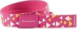 HORSEFEATHERS TRIANGLES BELT GIRLS MAGENTA