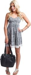 METAL MULISHA CLOUDED DRESS GREY