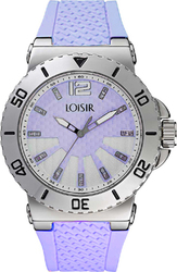 Loisir Purple Rubber Strap 11L07-00251