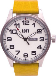 Loft Men's Yellow Leather Strap LFT010YW