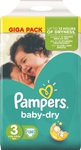 Pampers Baby Dry Giga Pack No 3 (4-9kg) 136τμχ