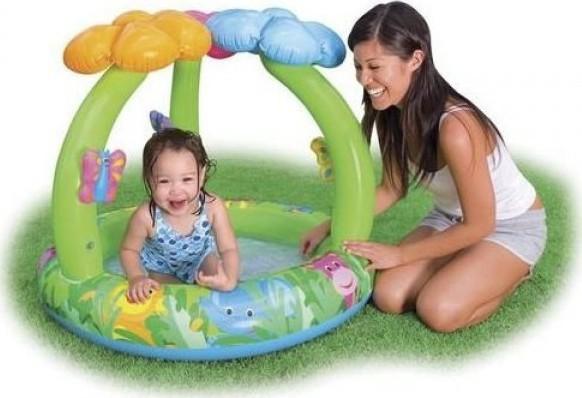 Intex Baby Pool Jungle Flower Planschbecken ...