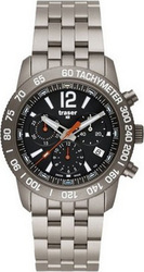 Traser Classic Chrono Titan Blue Men's Watch 100307