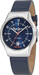 Pepe Jeans Men's Blue Leather Strap R2351113002