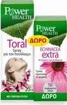 Power Health Toral spray 20ml + Echinacea Extra 10tabs