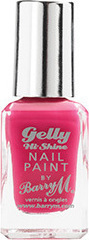 Barry M Gelly Hi Shine Nail Paint No 26 Pink Punch