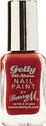 Barry M Barry M Gelly Hi Shine Nail Paint No 33 Chili