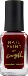 Barry M Classic Nail Paint No 1A Red Wine