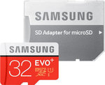 Samsung Evo+ microSDHC 32GB U1 with Adapter