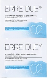 Erre Due Hydration Restoring Cream Mask (Normal - Dry Skin) 2x8ml