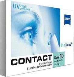 f979b536bf Zeiss Contact Day 30 Compatic Toric Μηνιαίοι 6 packs