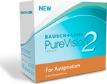Bausch & Lomb PureVision 2HD for Astigmatism Μηνιαίοι 6pack