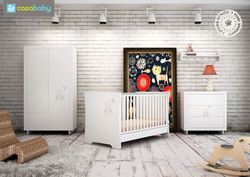 Casababy Teddy Crystal White