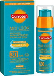 Carroten Mat Look Suncare Face Cream (Oily/Comb Skin) SPF30 50ml
