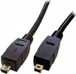 OEM Firewire Cable 4-pin male - 4-pin male 0.5m