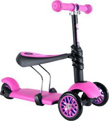 Y Volution Y Glider 3 in 1 Pink