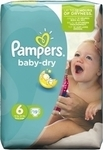 Pampers Baby Dry No 6 (16+ Kg) 19τμχ