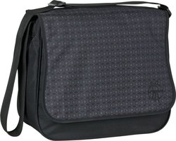 Laessig Messenger Bag Comb Black