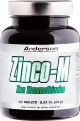 Anderson Zinco-M 12.5mg 60 ταμπλέτες