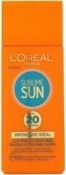 L'Oreal Sublime Sun Bronzage Ideal Lait Protecteur Irise SPF20 200ml