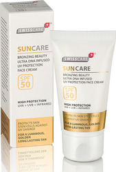 Swiss Care Bronzing Beauty Protection Face Cream SPF50 50ml