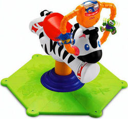 Fisher Price Go Baby Go! Bounce & Spin Zebra