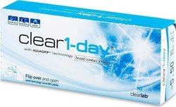 Clearlab Clear 1-Day Ημερήσιοι 30pack
