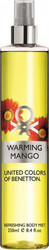 Benetton Warming Mango Body Mist 250ml