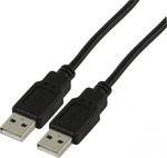 De Tech USB 2.0 Cable USB-A male - USB-A male 1.5m (18034)
