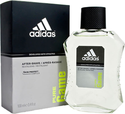 Adidas Pure Game Men Aftershave Lotion 100ml
