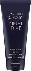 Davidoff Cool Water Night Dive After Shave Balm 100ml