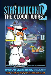 Steve Jackson Games Munchkin Star Munchkin 2 The Clown Wars