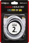 Bigben Interactive HDMI 1.4 Cable HDMI male - HDMI male 2m (PS3) (BB251463)