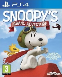 The Peanuts Movie Snoopy's Grand Adventure PS4