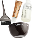 Korres Herb Gloss Colorant 3.0 Καστανό Σκούρο Set
