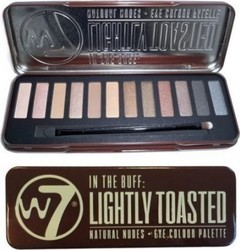 W7 Cosmetics In The Buff Lightly Toasted Pallete