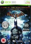 Batman Arkham Asylum (Game of The Year) XBOX 360
