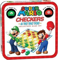 OEM Super Mario Checkers/Tic Tac Toe Combo