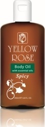 Yellow Rose Body Massage Oil Spicy 200ml