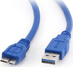 Cablexpert Regular USB 3.0 to micro USB Cable Μπλε 1.8m (CCP-MUSB3-AMBM-6)